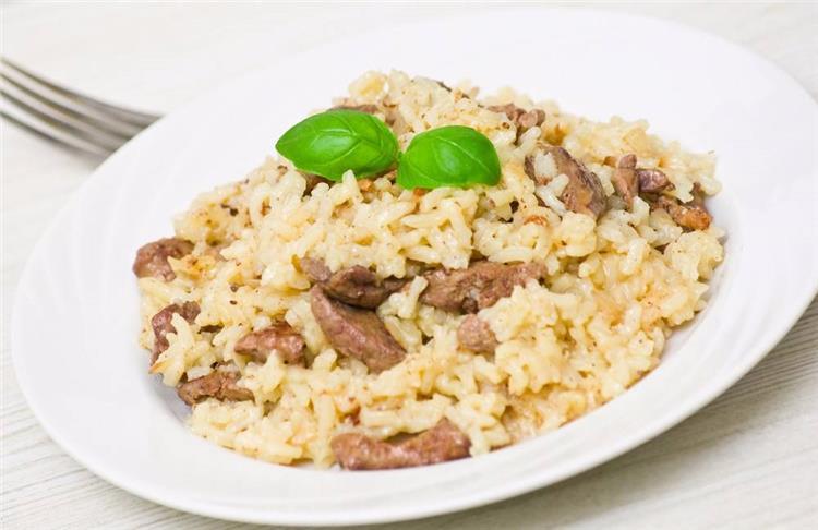 منيو غداء اليوم طريقة عمل الأرز بالكبدة
