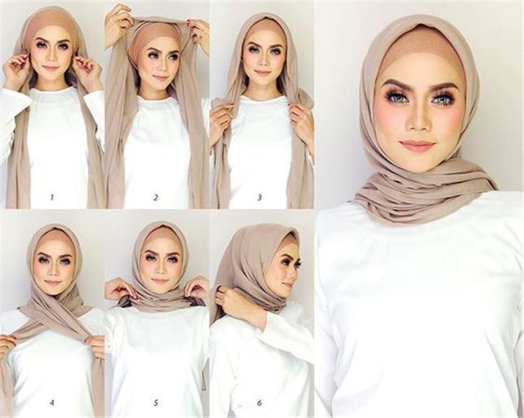 أفكار جديدة للفات الحجاب