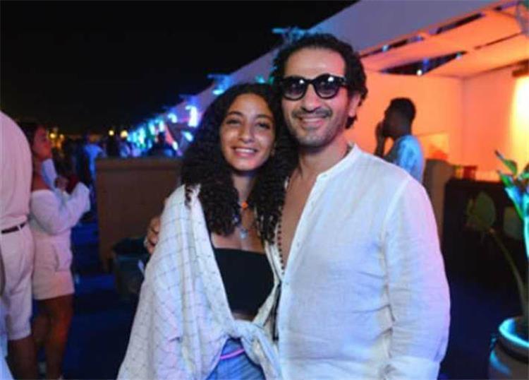 ابنة أحمد حلمي ومنى زكي في التلفزيون لأول مرة والسبب مفاجأة