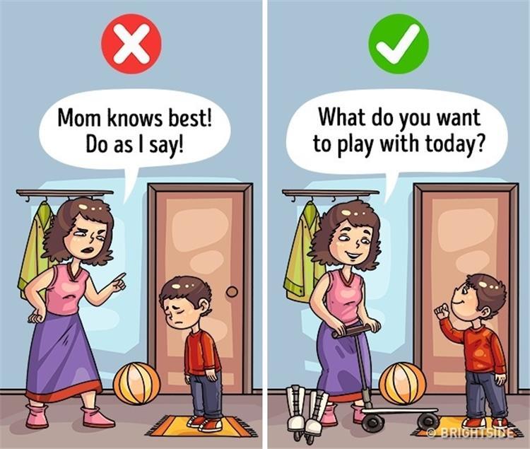 5 كلمات لها مفعول السحر على الأطفال