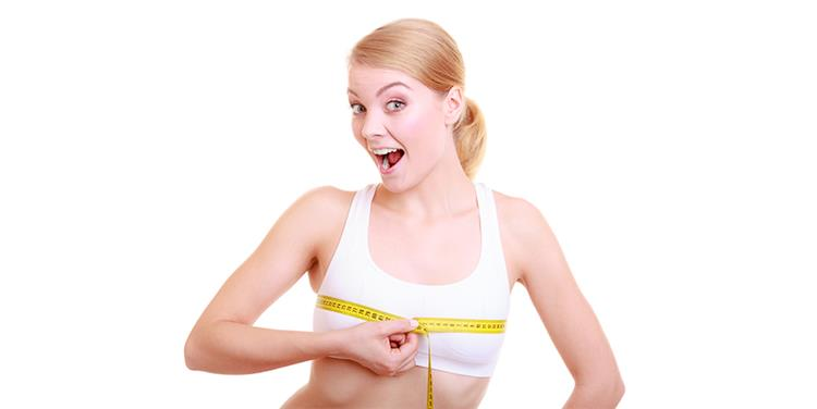 وصفات فورية لتكبير الثدي