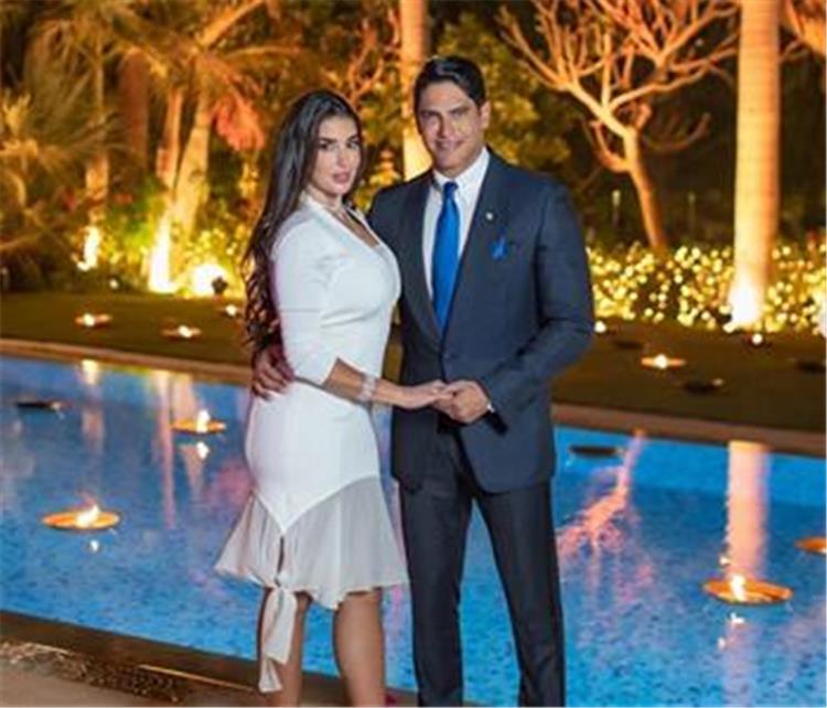 تصرف غريب من احمد ابو هشيمة اثناء حضوره حفل زفاف برفقة ياسمين صبري يثير جدلا على السوشيال ميديا