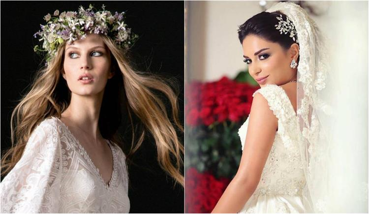 تسريحات شعر عروس 2018