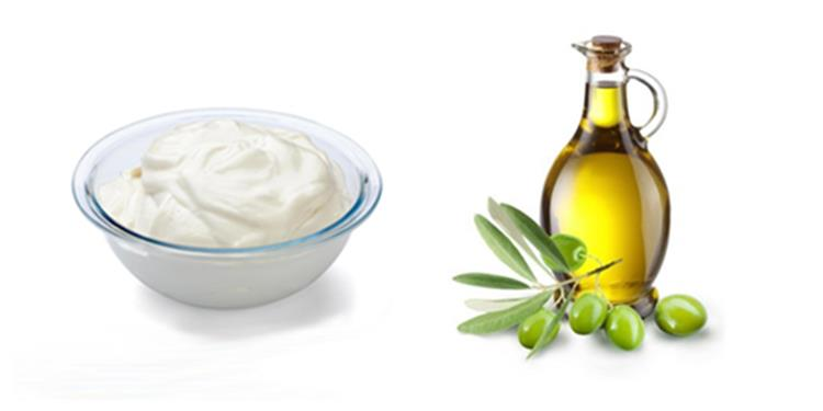 5 خطوات لعمل وصفة الزبادي وزيت الزيتون لكثافة الشعر