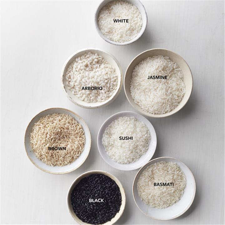 أنواع وألوان الأرز المختلفة مش كله أبيض