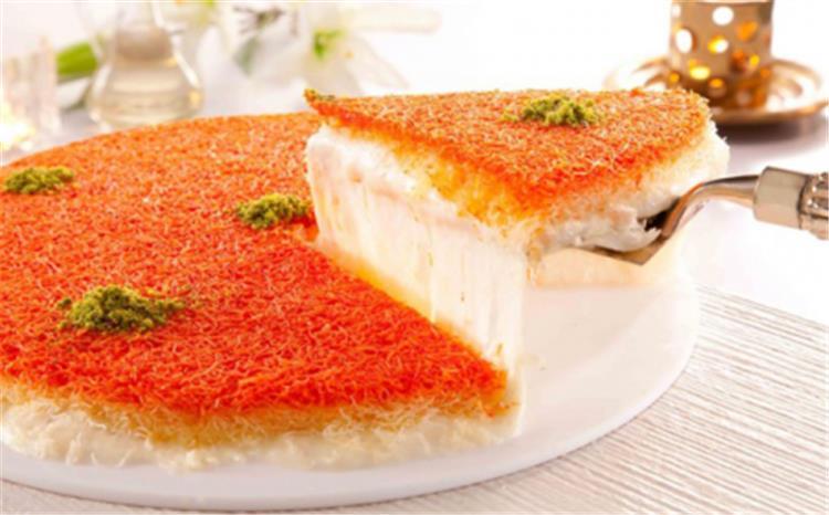طريقة عمل الكنافة النابلسية حلويات رمضان