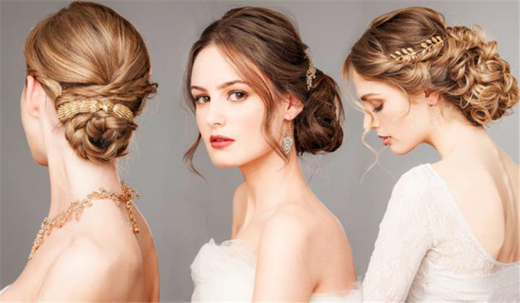 تسريحات شعر للعرائس موضة 2017