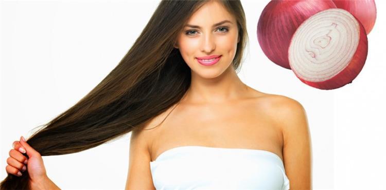 وصفة البصل للاسراع من عملية إطالة الشعر