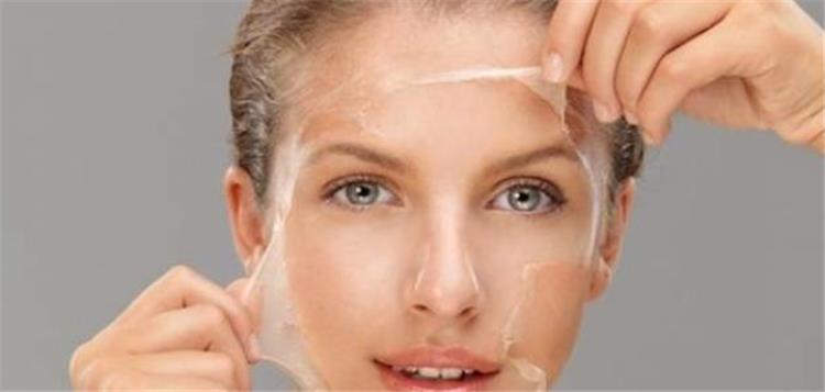 ماسك الجيلاتين لإزالة شعر الوجه