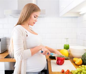 صحة المرأة الحامل فى الشهر الثامن