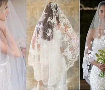 أحدث صيحات طرح الزفاف لعروس 2018