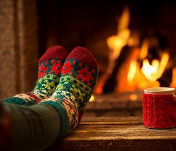 طرق بسيطة لتدفئة المنزل في فصل الشتاء