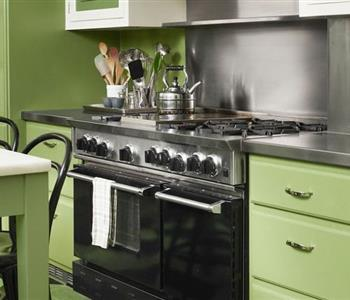 بالصور..مطابخ خضراء تفتح شهيتك لتحضير الاكل
