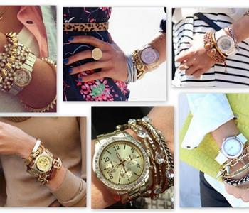 كيفية ارتداء ساعة الايد مع الاكسسوارات