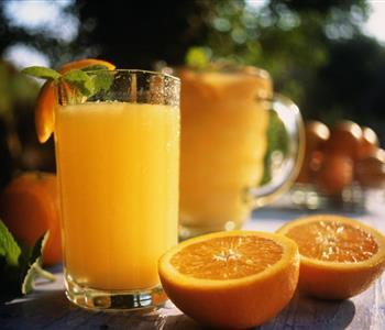 طريقة عمل شربات البرتقال