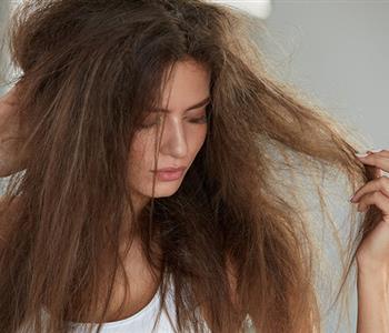 علاج الشعر الجاف بوصفات منزلية