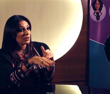 انجي المقدم تحكي عن علاقتها بأولادها