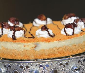 طريقة عمل تشيز كيك الكنافة مثل المحلات في رمضان