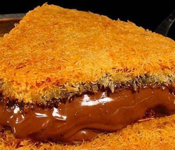 طريقة عمل الكنافة بالشوكولاتة لحلويات شهية في رمضان