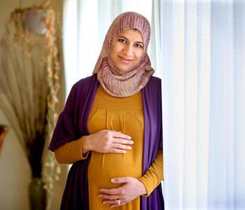 متى تفطر الحامل في شهر رمضان