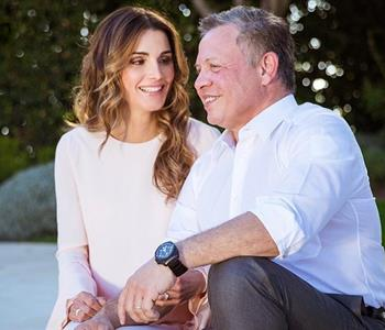 بالأبيض والأسود تعرفي على ملكة الأردن