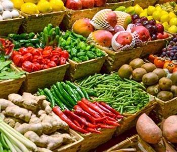 اسعار الخضروات والفاكهة واللحوم والدواجن اليوم 19 أبريل 2018