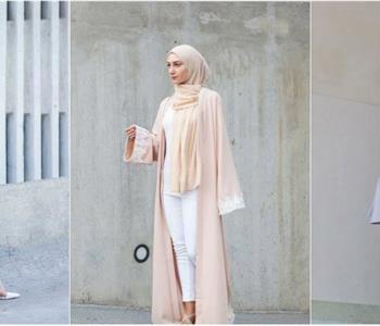 العبايات بألوان الباستيل لإطلالة رمضانية أنيقة