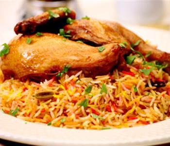 طريقة عمل البرياني بالدجاج لسفرة رمضانية شهية