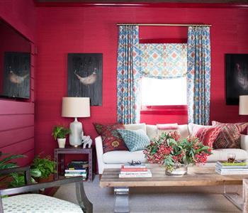 بالصور.. طرق مختلفة لاستخدام اللون الاحمر في تزيين منزلك