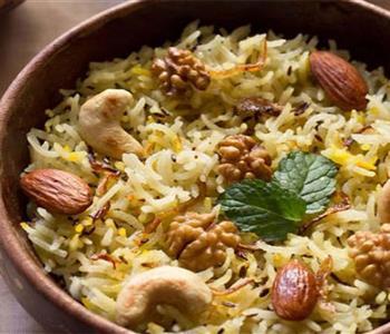 طريقة عمل أرز بالخلطة على الطريقة الكشميرية